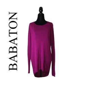 Aritzia Babaton Long Sleeve Cutout Top